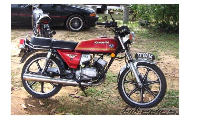 Binter Kawasaki Gto 125 Cc King Antik Gambar Modifikasi Motor Antik