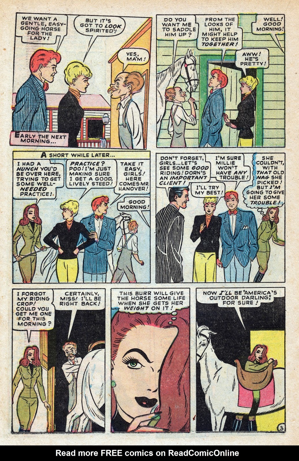 Read online Nellie The Nurse (1945) comic -  Issue #17 - 24
