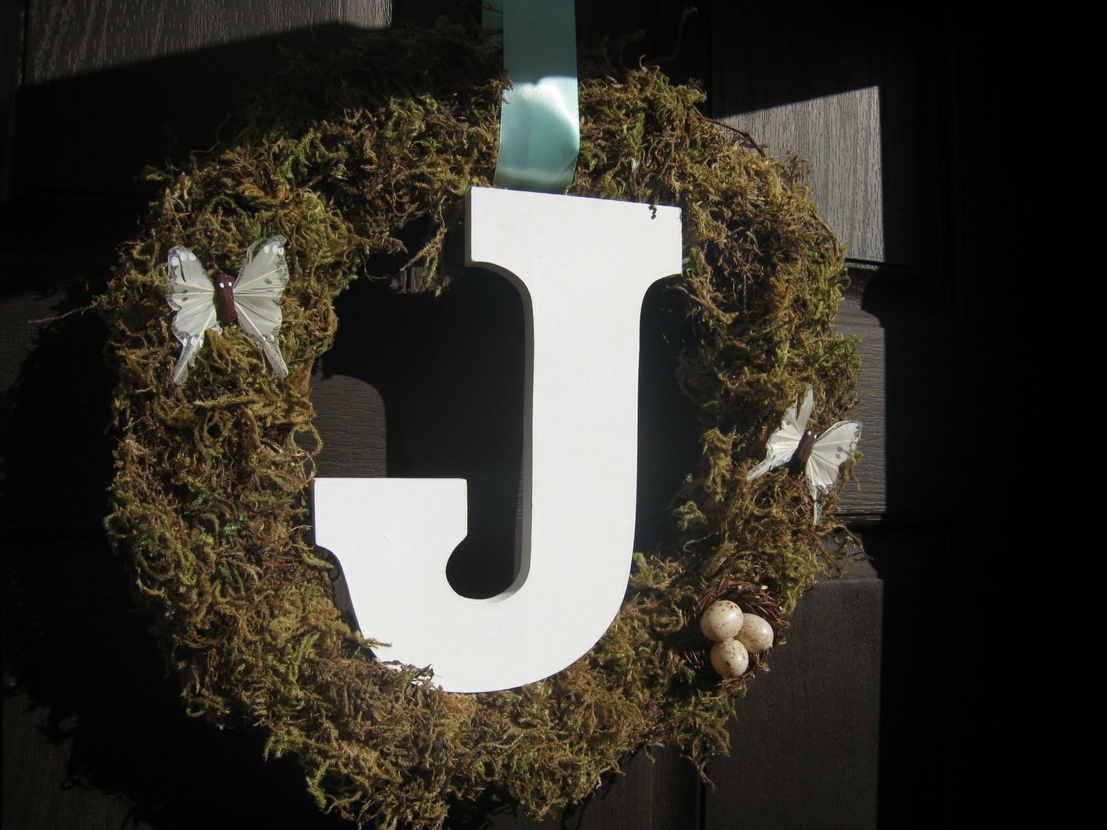 Craftaholics Anonymous 174 Rtw Initial Wreath Tutorial