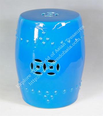 Surprising Ebay Find Of The Day Ceramic Garden Stool Inzonedesignstudio Interior Chair Design Inzonedesignstudiocom