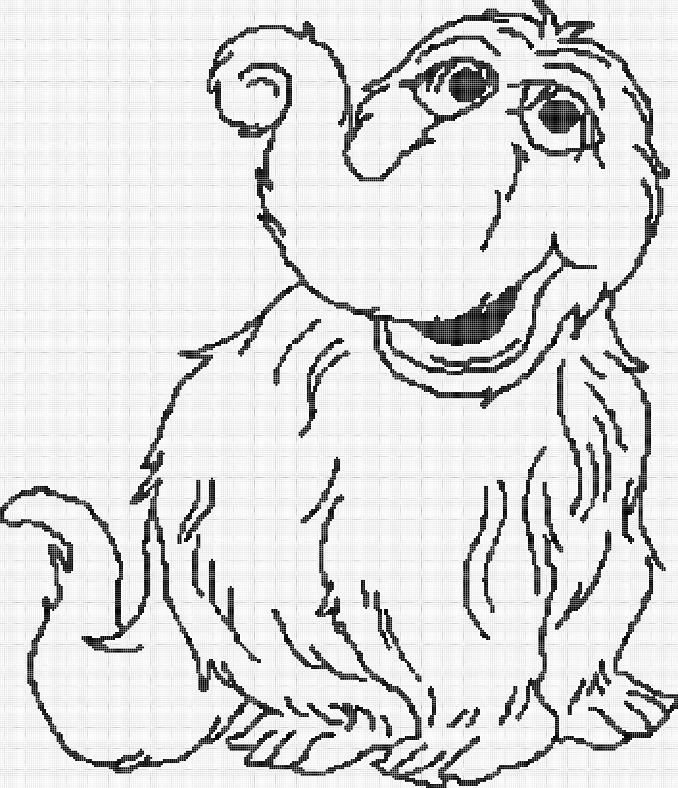 snuffleupagus coloring pages-#1