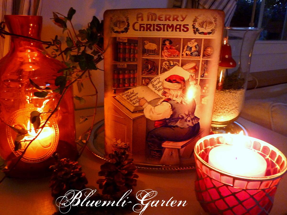 Süße Weihnachtsbilder.Bluemli Garten überall Fliegenpilze In Der