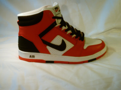 on sale c314a b1476 Nike Air Force 2 High Red Black Size 12