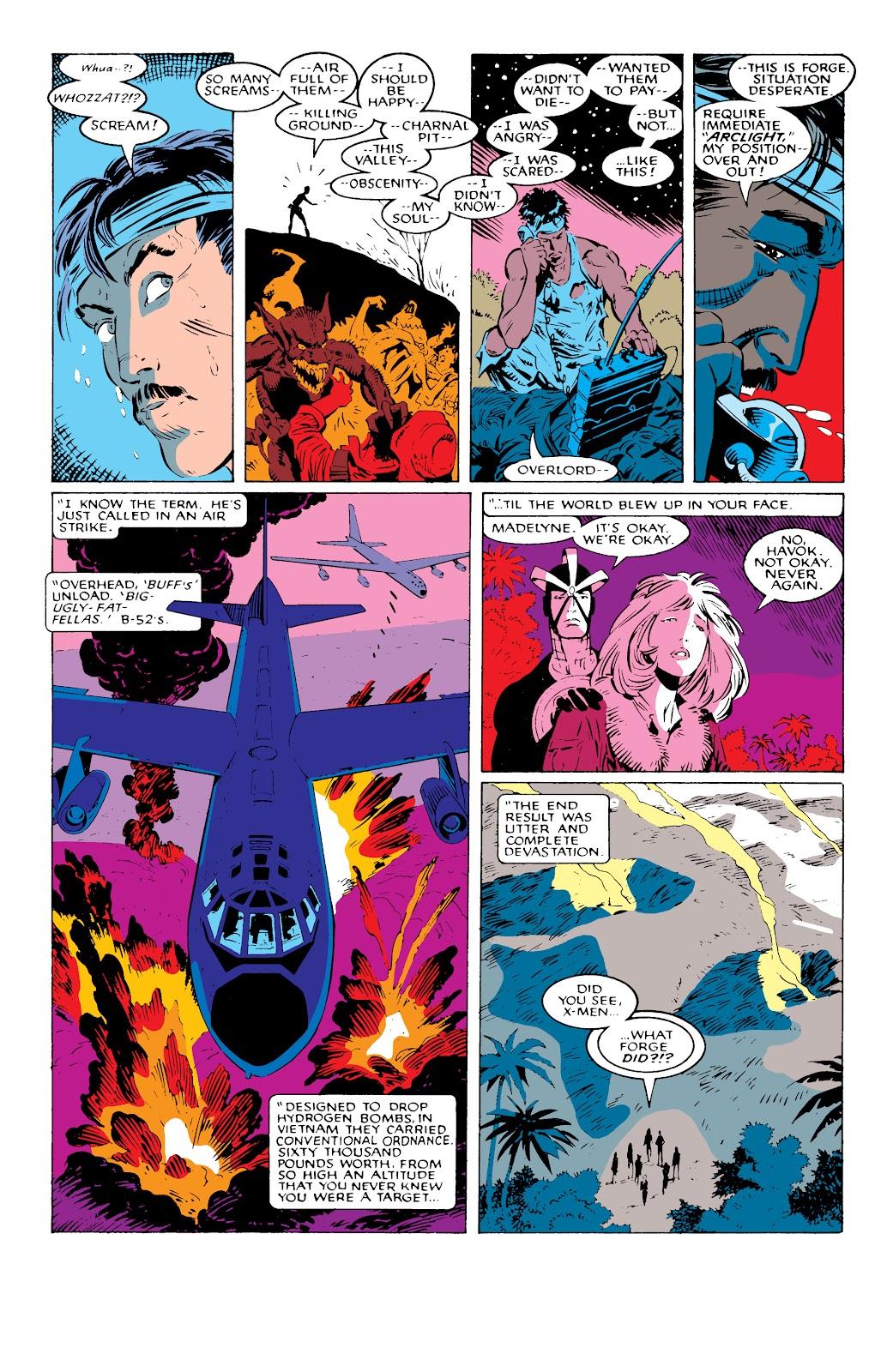 Read online X-Men Milestones: Fall of the Mutants comic -  Issue # TPB (Part 1) - 74