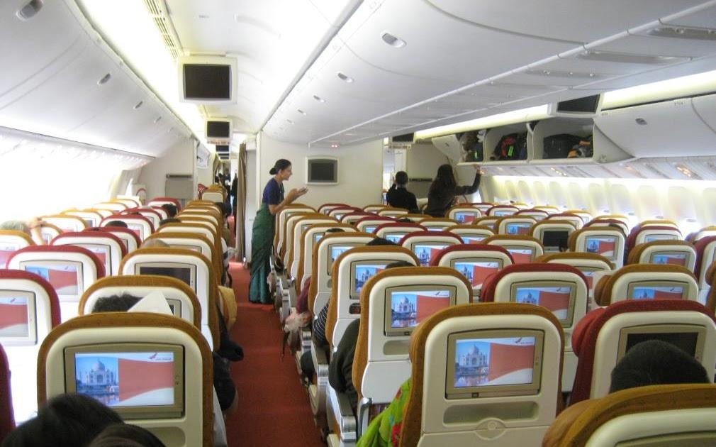Airplane Pics Air India 777 Economy Class Cabin Pics