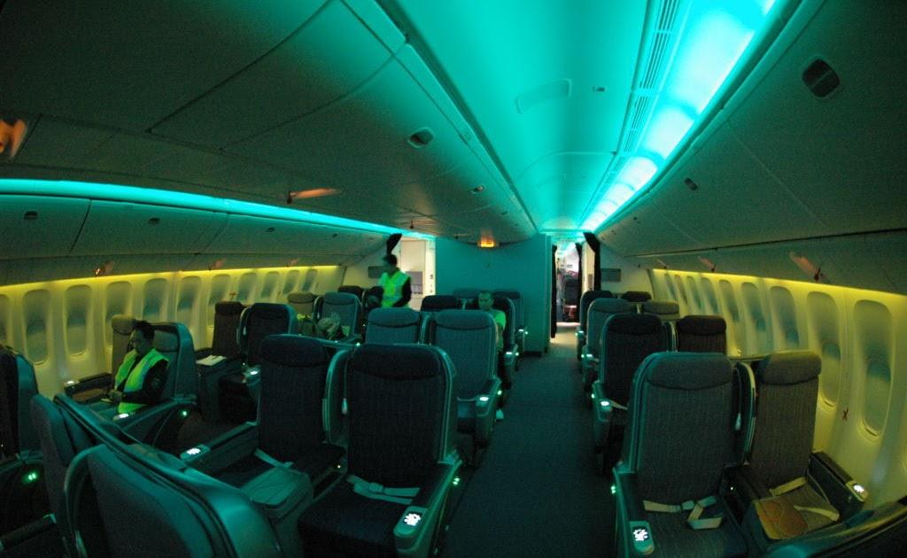 Airplane Pics Thai Airways 777 200er Cabin Interior Photos