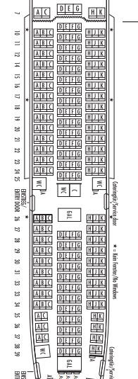 Airplane Pics Austrian Airlines 777 200 Seat Map