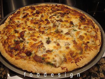 Foodesign Beef Stroganoff Pizza