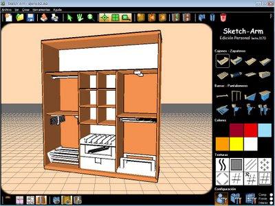 Dise ar armarios empotrados for Programas de diseno de interiores 3d gratis