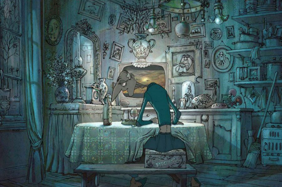 I Love You Animation Wallpaper Good Good Swinging Belleville Rendez Vous The Illusionist