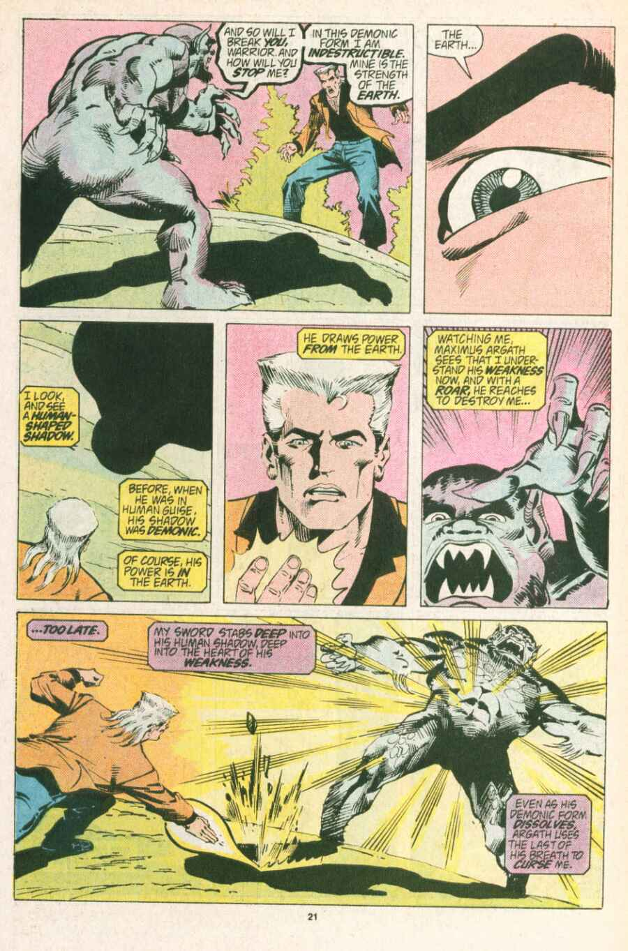 Read online Justice (1986) comic -  Issue #13 - 22