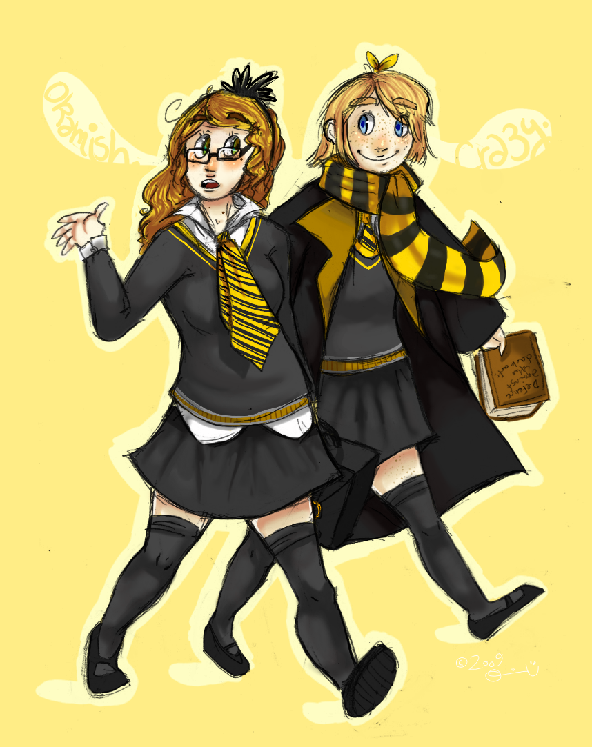 Gryffindor Wallpaper Cute Jinxnox Hufflepuff Girls