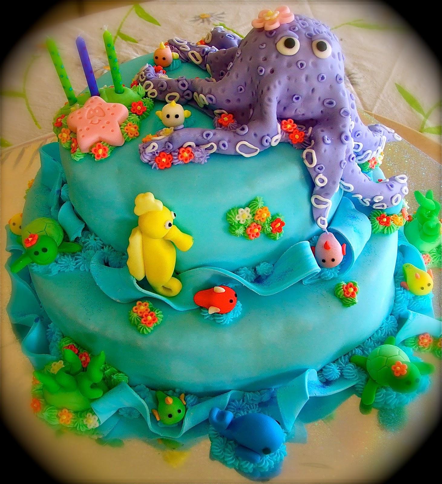 Dream Cakes Under The Sea Cake