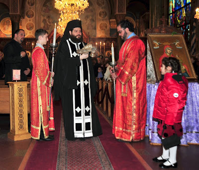 Orthodox Photos: Service of the Nymphios, Holy Wednesday