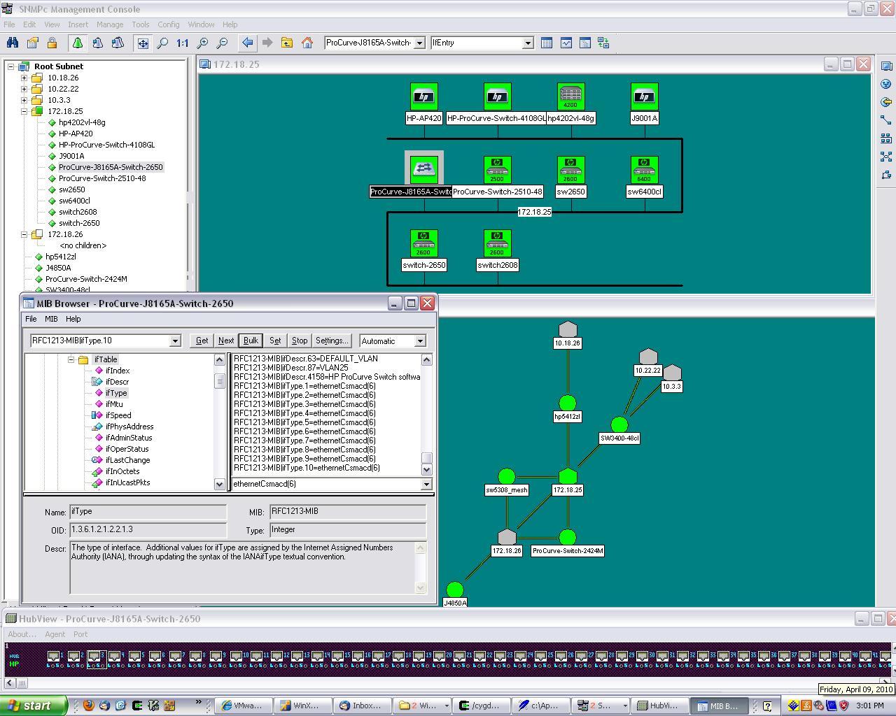 Gambit Communications Blog  Hp Procurve Network In Mimic