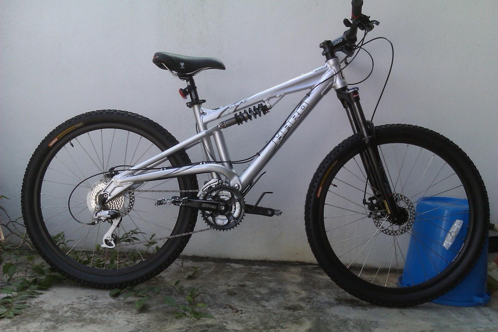 Dual Suspension Haro Mtb >> Expressing Myself New Year New Bike