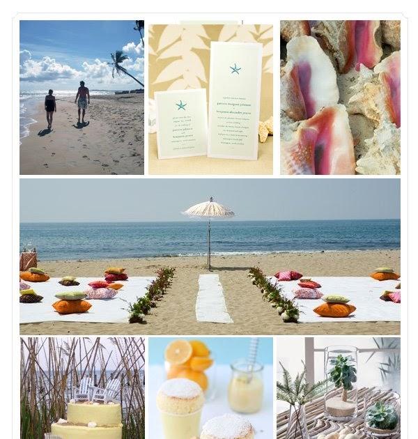 The Wedding Decorator: Stylish Beach Wedding On A Budget