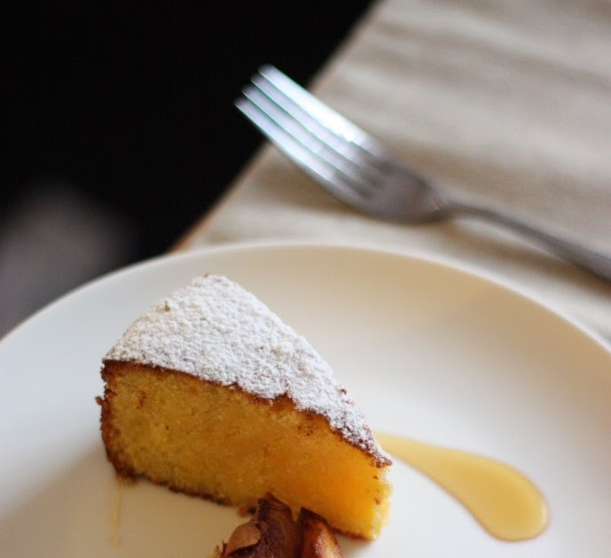 Lemon Ricotta Almond Cake Thermomix