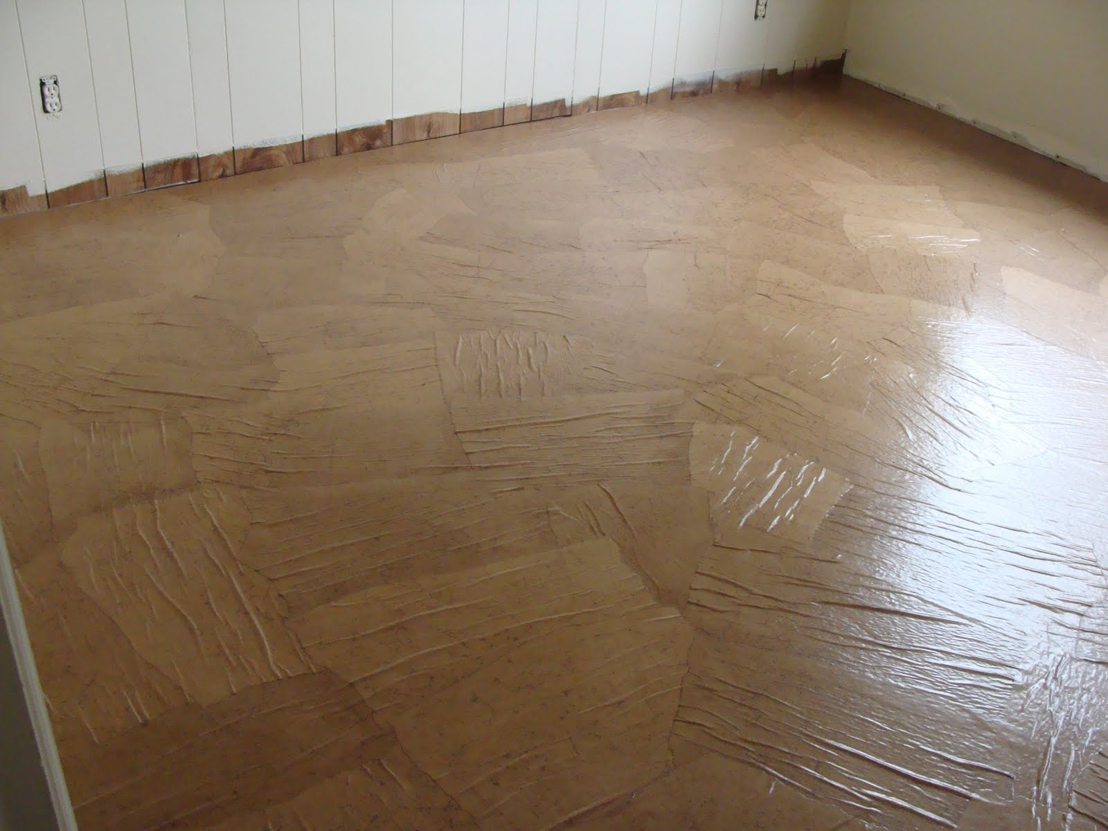 The floor failure not for Oregon floor