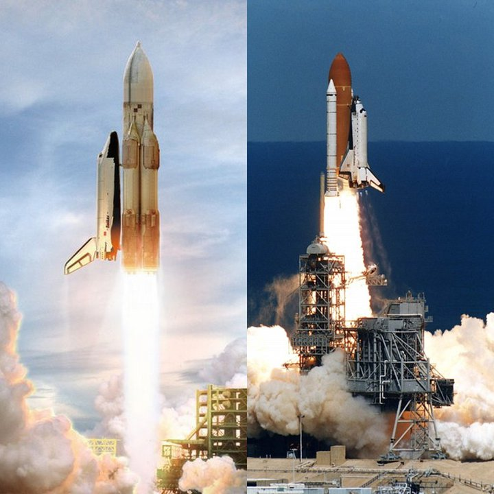 space shuttle vs spacecraft - photo #20