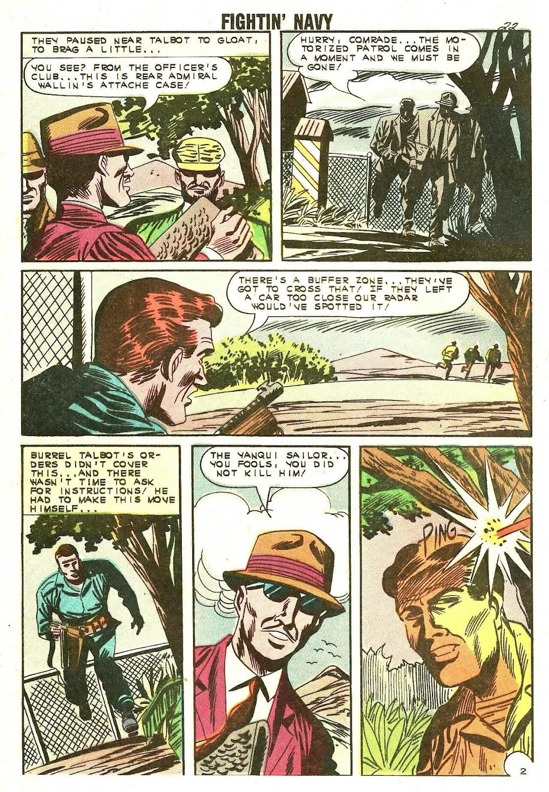 Read online Fightin' Navy comic -  Issue #110 - 24