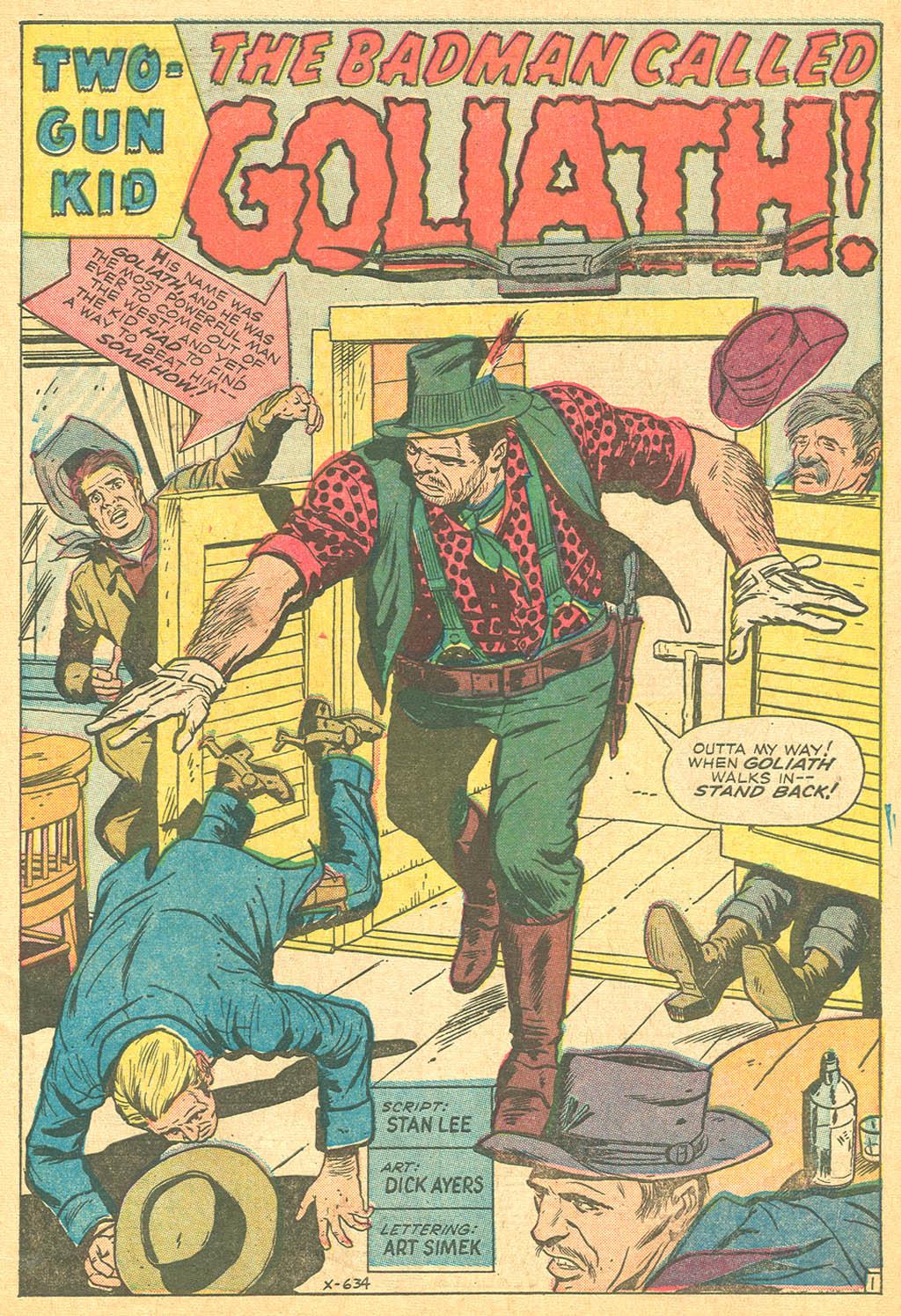 Read online Two-Gun Kid comic -  Issue #69 - 3