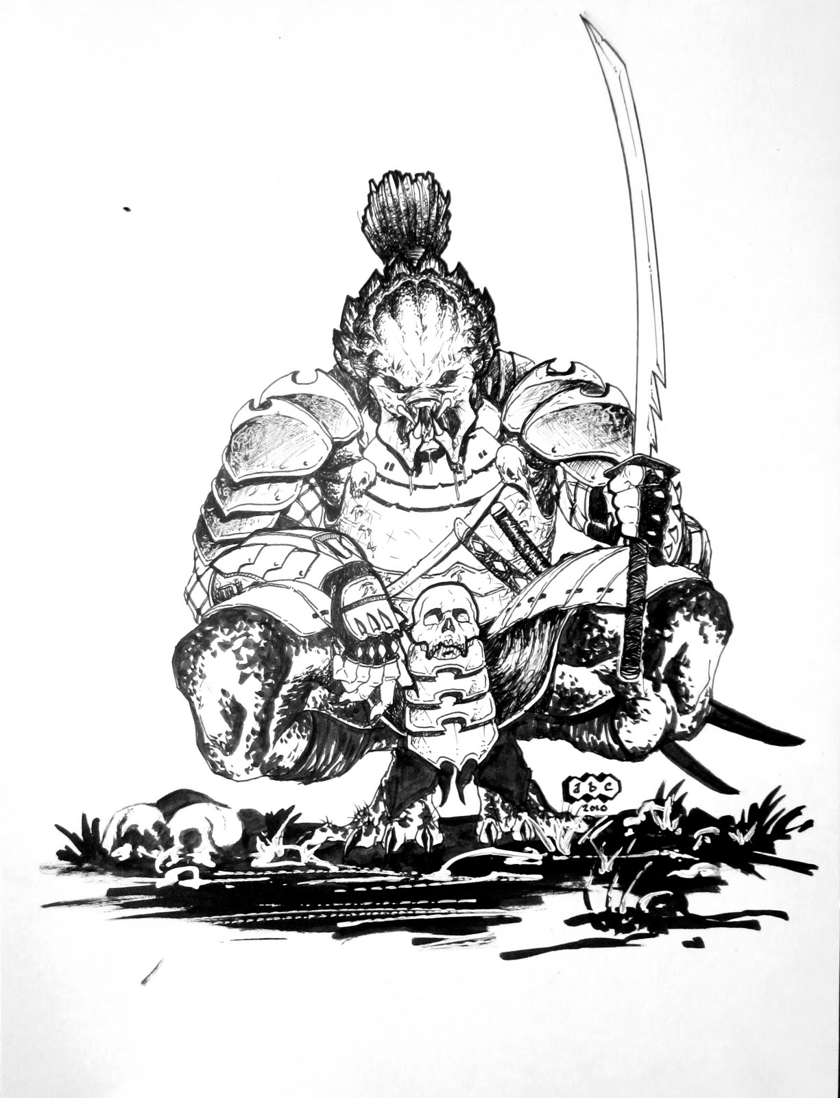 Adam B Carabet Samurai Predator