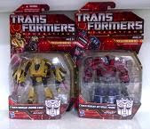 Transformers Generations Cybertronian Bumblebee & Optimus Prime