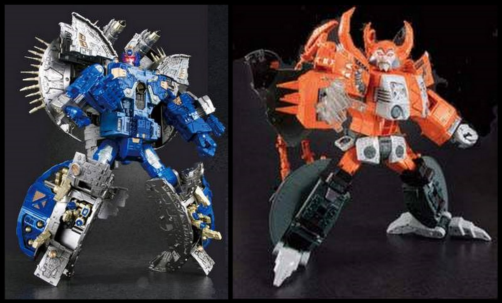 Omtalade 1 Toy: Takara Tomy Transformers Primus and Unicron Reissue PRE ID-96