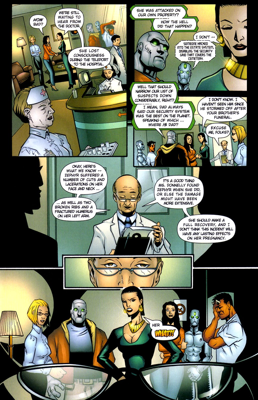 Read online Noble Causes (2002) comic -  Issue #3 - 11