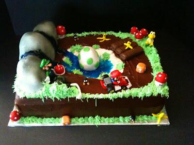 Wine Country Cakes: Mario Kart