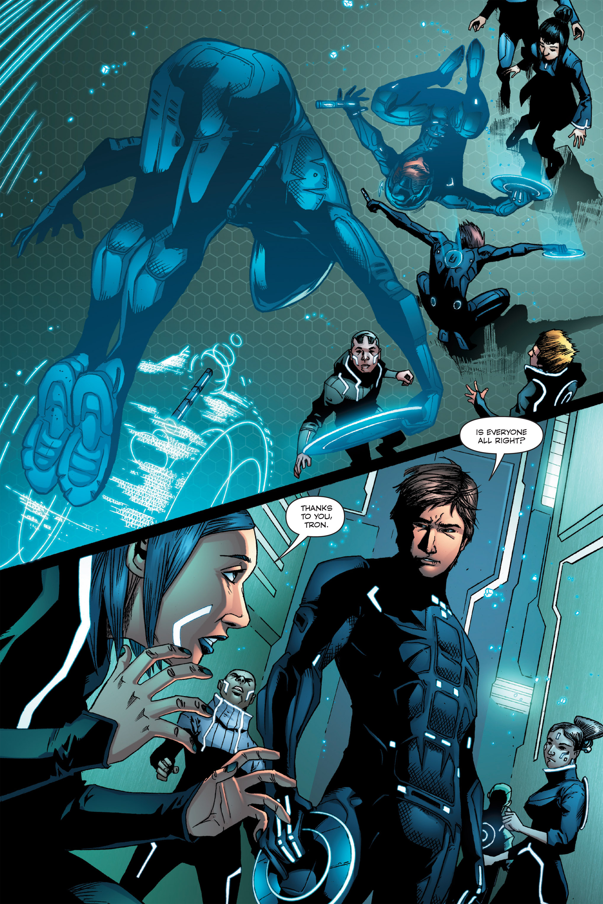 Read online TRON: Betrayal comic -  Issue # TPB - 41
