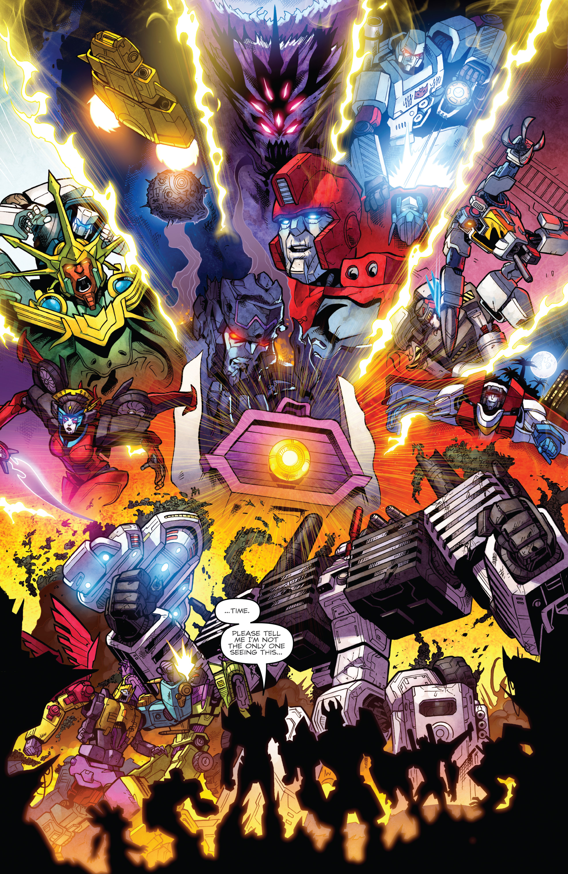 Read online The Transformers: Dark Cybertron Finale comic -  Issue # Full - 133