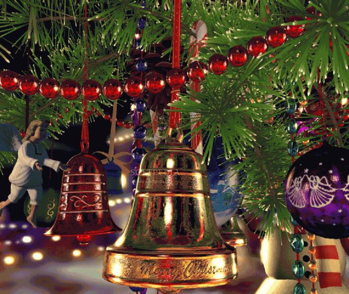 Free Christmas Desktop Wallpapers Christmas Bells Desktop
