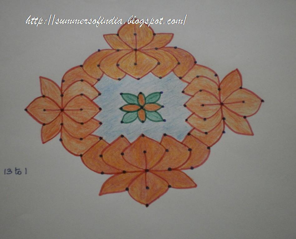 Summersofindia Rangoli 33