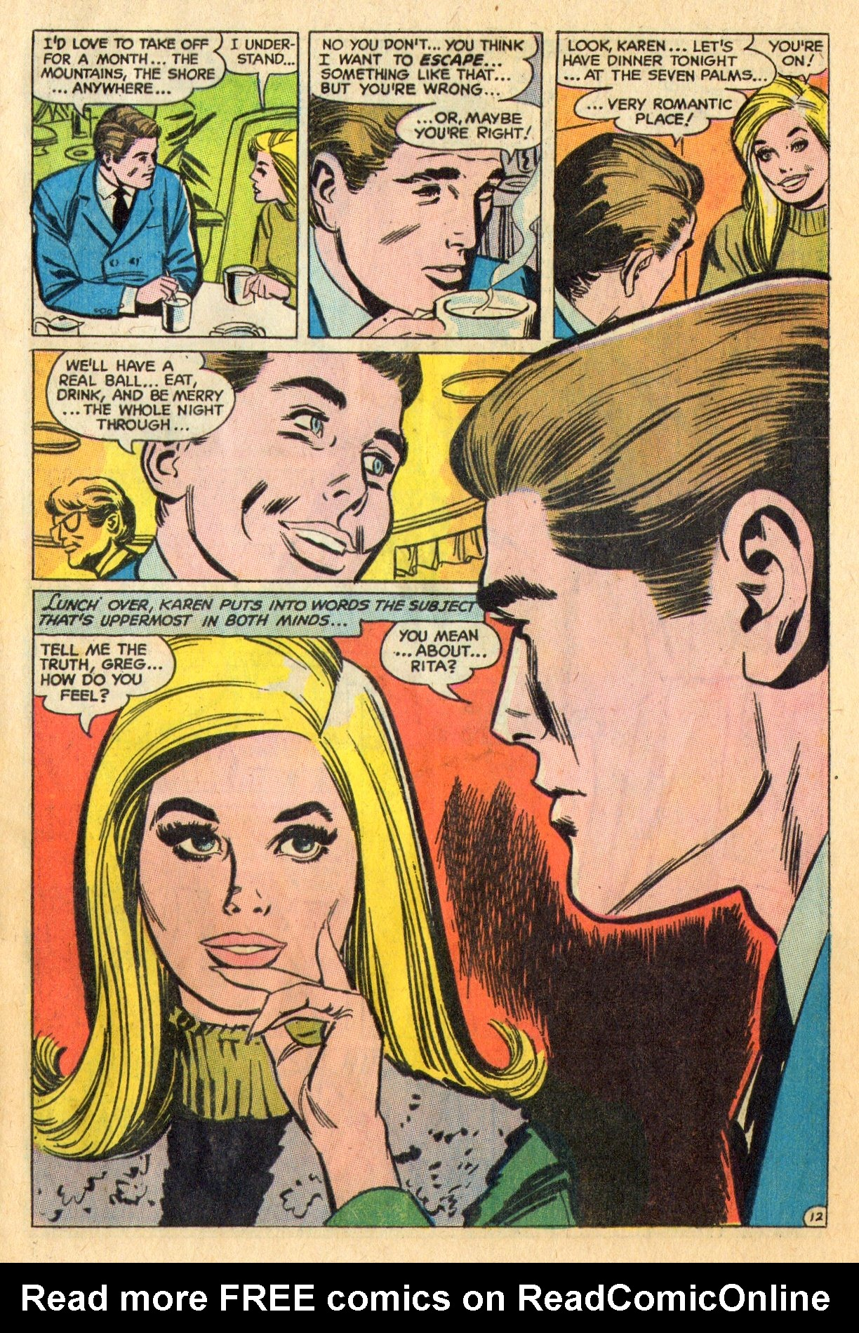 Read online Secret Hearts comic -  Issue #136 - 29