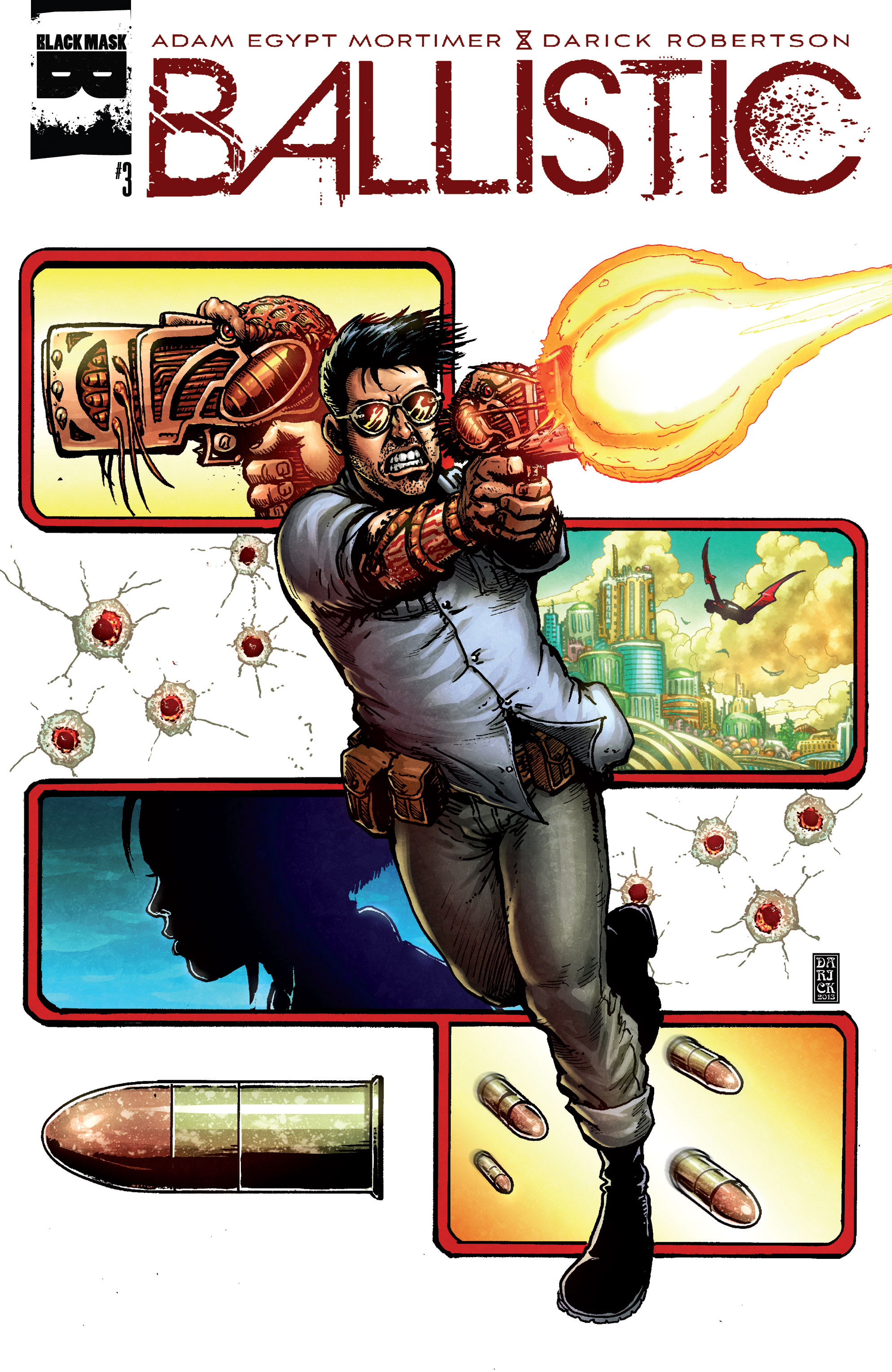 Read online Ballistic (2013) comic -  Issue #3 - 1