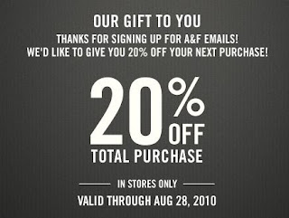 click here for your abercrombie fitch 20 off in store coupon valid 828 and in store only