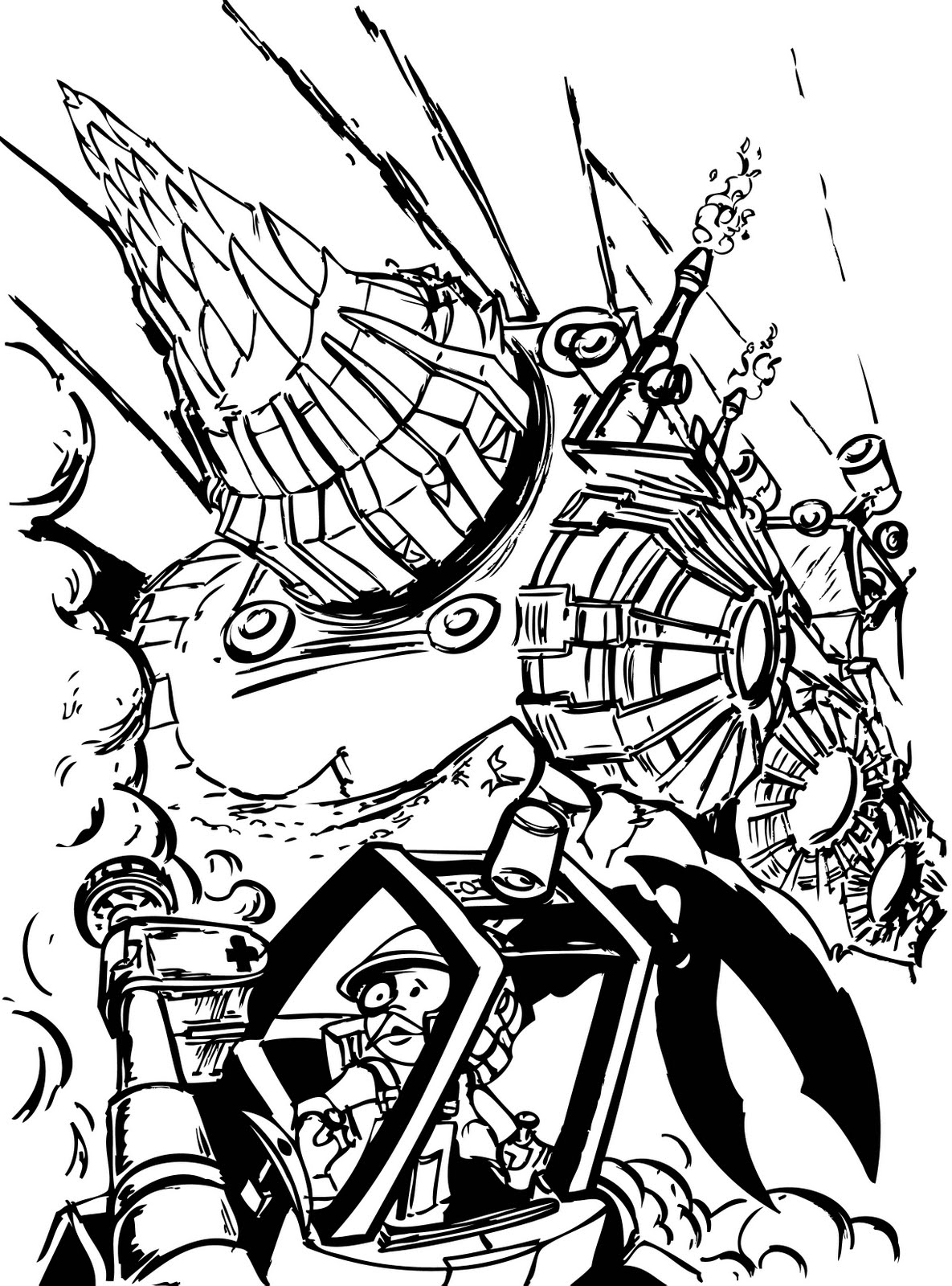 miner coloring pages - photo #42