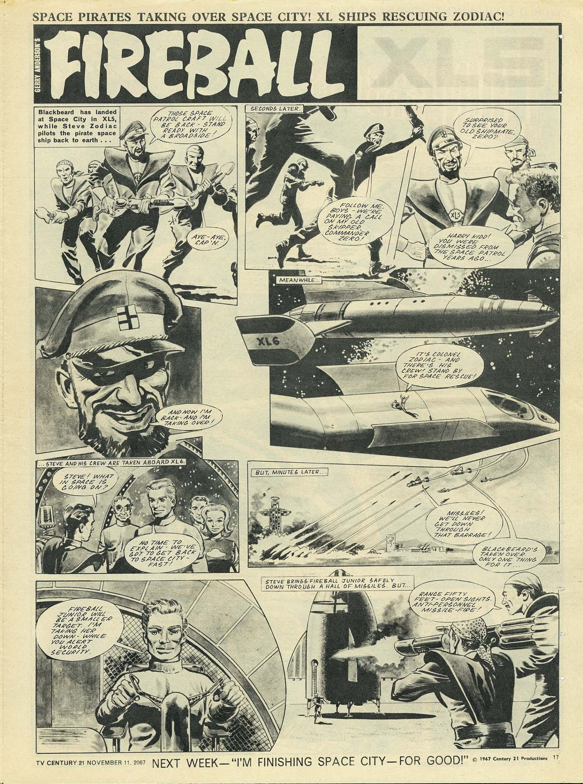 Read online TV Century 21 (TV 21) comic -  Issue #147 - 16