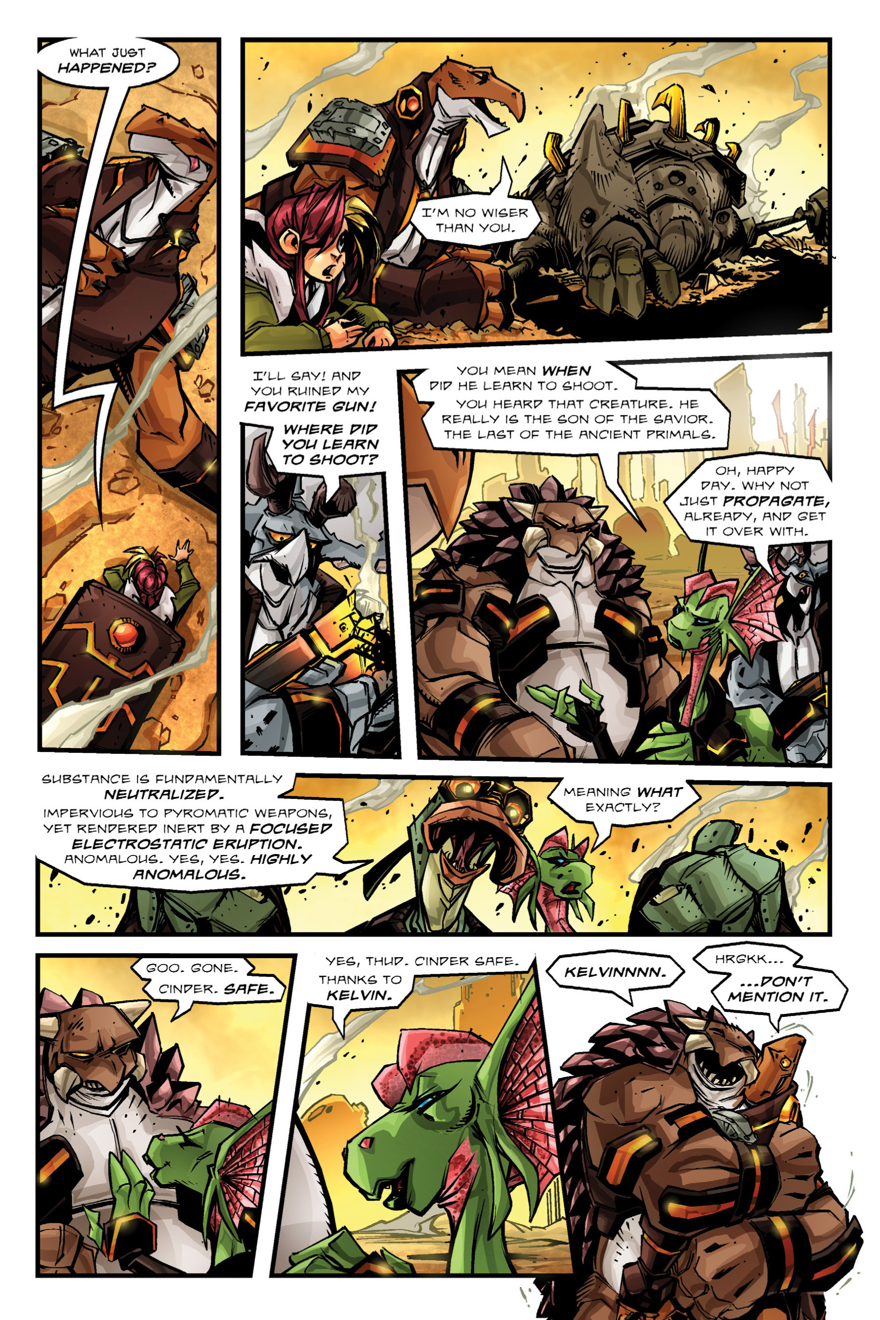 Read online Rexodus comic -  Issue # Full - 54
