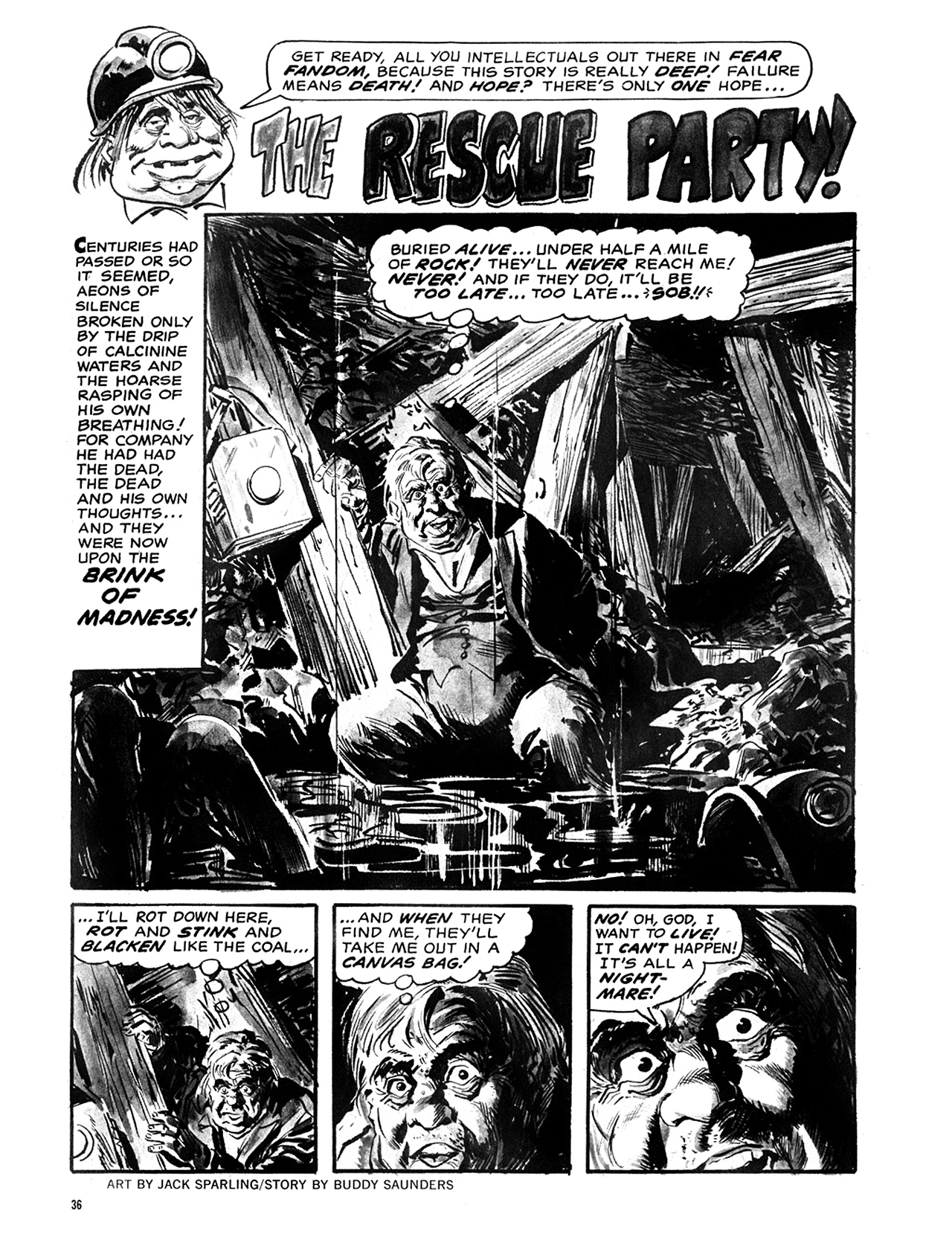 Read online Eerie Archives comic -  Issue # TPB 6 - 37