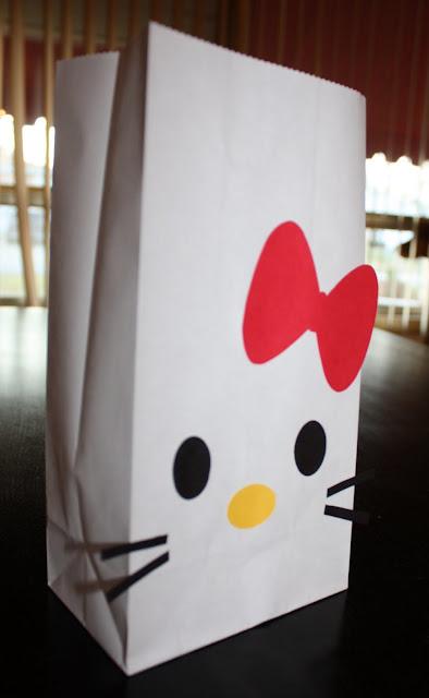 Bolsas de Hello Kitty.