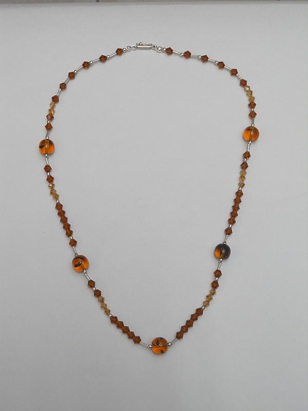 a3bc77d769a4 Mix Piedras: Collar con Cristal Swarovski y Cristal Checo