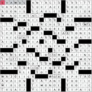 Sexy beatles girl crossword clue