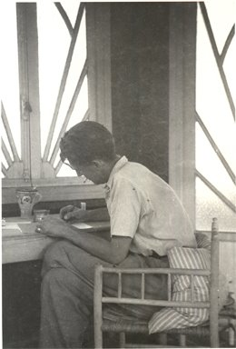 George Orwell writing