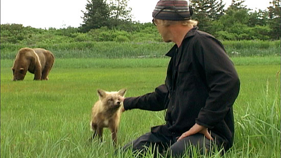 Timothy Treadwell, the subject of Werner Herzog's documentary 'Grizzly Man' (2005)