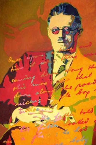 James Joyce by Barrie Maguire