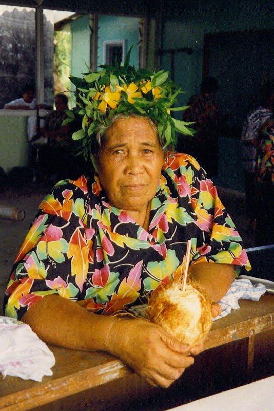 Kuala Skylab Niue Islands Photo Niuean Woman