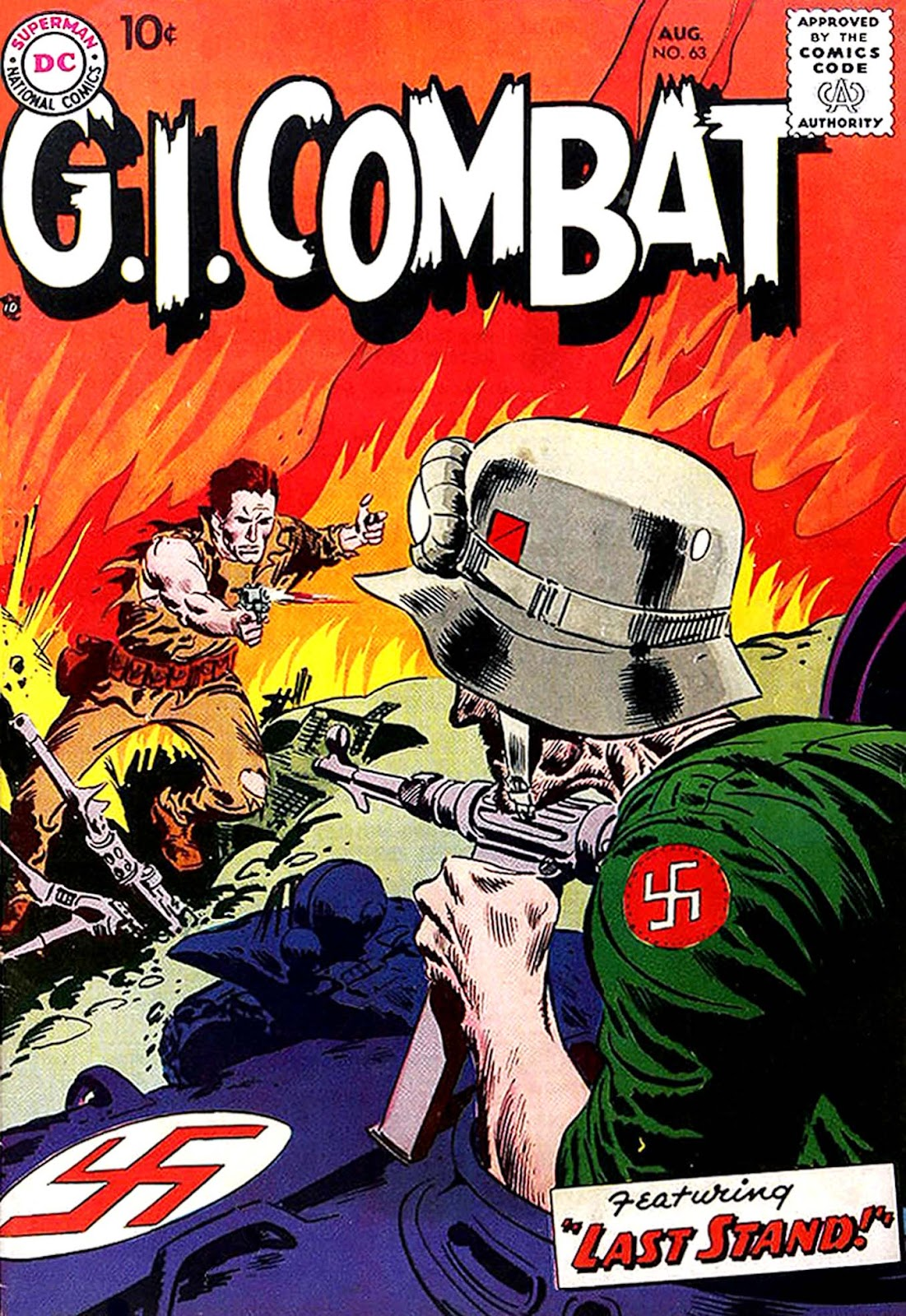 G.I. Combat (1952) issue 63 - Page 1